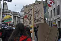 """Stand Up To Racism March 2016 (Tim Dennell) Tags: demonstration migration multicultural asylum immigration antifascist barac antiracist 2016 sarahreed blackactivists baracuk sarahreedsayhernameblacklivesmatter""""marchagainstracism""""""""refugeeswelcome""""london """"englishdiscolovers"""" blaksox justice4slreed"""