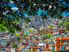 Favela Da Rocinha (alexandremrlop) Tags: brazil house colors riodejaneiro favela impresionnant