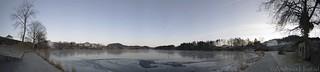 Storevatnet Florø panorama during day