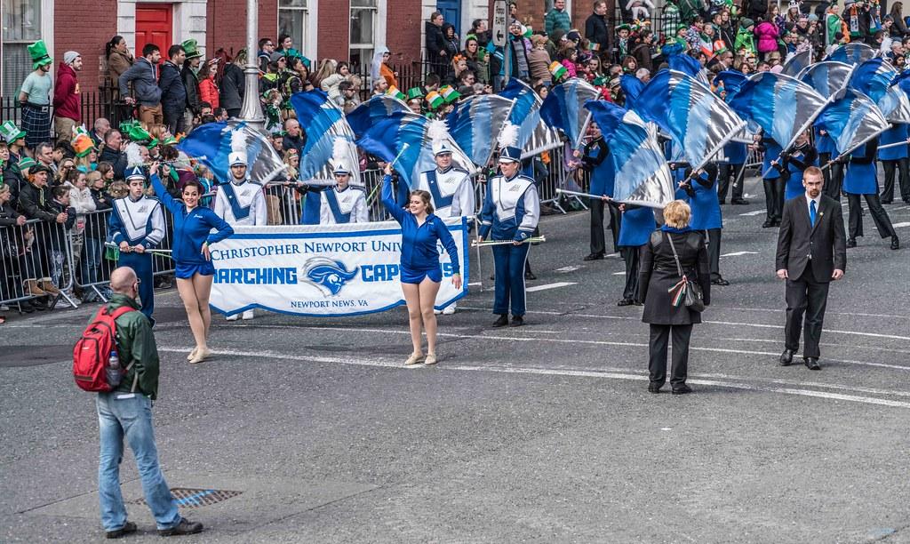 Christopher Newport University Marching Captains-112410