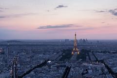 Paris Sunset (mvdc0w) Tags: sunset paris europe fance cityscape ville effeil