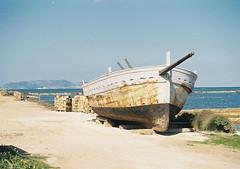 Saline, Trapani (arturo.gallia) Tags: travel sea primavera landscape barca mare sale sicily saline viaggio sicilia paesaggio trapani pasqua