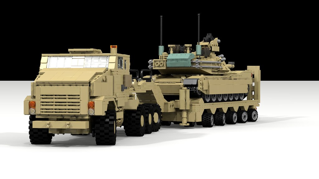 c35d84f8bf4c ... mbt combatengineervehicle military m1a2 render ldd2povray  legodigitaldesigner · M-1070  amp  M-1000 with M1A2 Abrams (TheRookieBuilder)  Tags