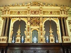 Drawing Room Mantlepiece, Ightham Mote, Kent (Brownie Bear) Tags: uk england kent britain united great kingdom gb moat item ightham mote