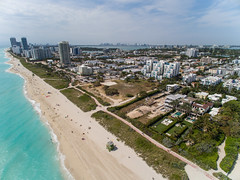 South Beach from above (fiu) Tags: ocean from above ariel beach magazine miami doug south garland drone