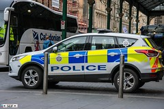 Ford Kuga Glasgow 2016 (seifracing) Tags: british transport police ford kuga glasgow 2016 seifracing spotting scotland strathclyde security emergency ecosse europe rescue recovery traffic research cars vehicles voiture trucks polizei britain brigade lj64ejz