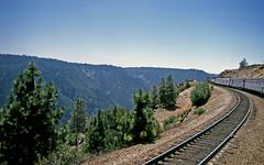 Amtrak 5 on Donner Pass (craigsanders429) Tags: california amtrak donnerpass southernpacific amtraktrains aboardamtrak amtrakssanfranciscozephyr amtraktrainno5
