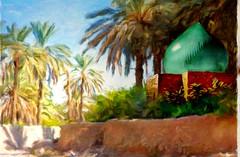 1459191843765 (ghassanv512) Tags: art iraq artes فنان نخيل لوحه قريه