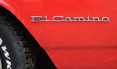 Chevrolet, El Camino (tats-Unis) (Cletus Awreetus) Tags: usa chevrolet emblem logo automobile pickup voiture collection badge elcamino coup generalmotors tatsunis emblme voituredecollection voitureancienne
