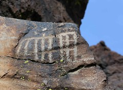 Petroglyphs / Blackrock Well Site (Ron Wolf) Tags: california archaeology nationalpark nativeamerican rake salinevalley petroglyph anthropology shoshone rockart deathvalleynationalpark numic