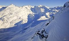 Mont du Vallon and Mont du Borgne (A. Wee) Tags: mountain france alps peak skiresort mont meribel borgne vallon   troisvalles les3valles