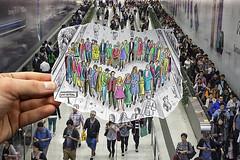 Love not Bombs (Ben Heine) Tags: brussels people love colors subway sadness candles peace sad heart belgium belgique belgie metro united unity pray crowd ceremony triste solidarity amour shape bougies citycentre prayers forme tristesse paix commemorations nomoreterrorism solidarité commémoration unité prières pencilvscamera prayforbrussels prayforbelgium