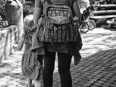 Tea for Two? (TuthFaree) Tags: ga georgia daughter mother elements backpack atlantazoo niksilverefexpro olympusem5markii zuikolens1240mmf28