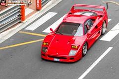 Ferrari F40 (effeNovanta - YOUTUBE) Tags: cars car canon eos video ferrari montecarlo monaco supercar supercars youtube ferrarif40 topmarques topmarquesmontecarlo canon1100d monacotopmarques