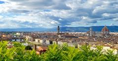 Florence Panorama (vincenzo.digiacomo) Tags: panorama florence nikon italia ponte cupola firenze duomo arno 1855 toscana michelangelo palazzo piazzale brunelleschi vecchio nikond3200 d3200