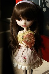 Cassandre (Sarah Boude) Tags: holiday cute doll princess roman audrey ann groove pullip custom hepburn poupe fmd rewigged formydoll