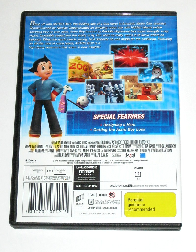 Astro Boy The Movie Action Figure Original Worlds Best Photos Of And Tezuka Flickr Hive Mind Astroboy 2009 Region 4 Dvd B Tjparkside Tags City Family