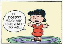 It doesn't make any difference to me (Tom Simpson) Tags: vintage comics peanuts 1950s charliebrown charlesschulz 1952 charlesmschulz lucyvanpelt newspapercomics itdoesntmakeanydifferencetome