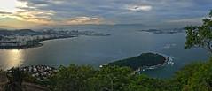 Rio 2015 1206 Pan (Visualstica) Tags: city brazil urban beach brasil ro ciudad playa panoramic stadt urbano podeacar panormica pandeazucar rodejaneiro