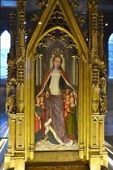 End panel of the Shrine of St Ursula by Hans Memling c1489. (greentool2002) Tags: st hospital john shrine panel hans sint end bruges ursula memling c1489 janshopitaal