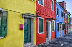 Like a pastel (Luca Santoro Photography ) Tags: houses colors case colori burano