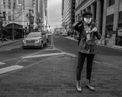 Market Street, 2016 (Alan Barr) Tags: street city people blackandwhite bw philadelphia monochrome lumix mono blackwhite candid streetphotography panasonic sp streetphoto marketstreet marketeast 2016 gx8 marketstreeteast