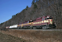 The Right One Up Front (ac1756) Tags: michigan wc 1997 711 gladstone wisconsincentral emd wcl gp30 fdgla