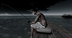 fishing (mick888 resident) Tags: life me tattoo ink fishing mesh body picture avi sl secondlife prodigy tmp 2016