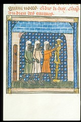 medievalpoc: Jeanne de Montbaston; Historia de Proeliis f. 78v: Worship of the Tartar god France (1340) Illuminated Manuscript, 425 x 310. [source] So, if anyones curious, I have a Facebook page for MPoC and I also engage with people there. Earlier someo (medievalpoc) Tags: travels worship gods marco polo tartar natigay