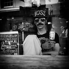 boss (Erwin Vindl) Tags: boss blackandwhite bw monochrome brighton candid streetphotography em10 streettogs erwinvindl olympusomd