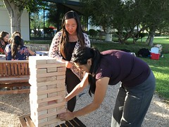IMG_8210 (Keck Graduate Institute) Tags: sports students fun group lawn pharmacy jenga activities sop sopendofyearbbq042216