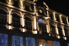 La mairie de Pau illumine. (Claudia Sc.) Tags: illumination pau mairie hteldeville barn