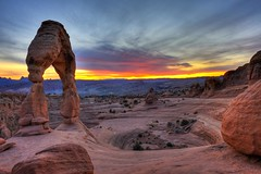 Delicate Arch At Sunset (jetguy1) Tags: print poster landscape utah arch canyon archesnationalpark delicatearch fineartphotography landscapephotography