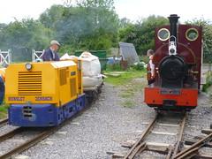 P1050762 (Hampton & Kempton Waterworks Railway.) Tags: diesel loop galaday 2015 darent spelthorne warflat