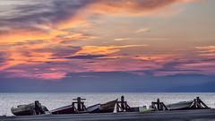 Barcas en las salinas (I) (Salvador Ruiz Gmez) Tags: mar andaluca playa barcas almera mediterrneo parquenaturalcabodegatanjar sanmigueldecabodegata