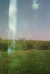 004 (derrickariley) Tags: light color 120 film abbey kodak junior medium format 100 leak turbine conception 620 ektar