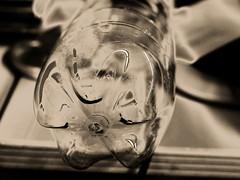 Transparent plastic (wwwuppertal) Tags: bottle tint plastic material transparent toned flasche durchsichtig toning kunststoff solarisation getont tonung brauntonung nikond3300 nikkorafsdx35mmf18g nikonafsdxnikkor35mm118g