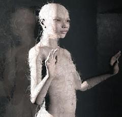 L'Inganno dei sensi... (Cammino & Vivo Capovolto  Claudio ) Tags: woman water glass photoshop naked donna room claudio nuda prova rendering vetri vetro stanza nudo senso sensi sfocato mistero inganno cnema