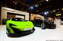 Mclaren 675LT - Autosalon Bruxelles 2016 (Rémy | www.chtiphotocar.com) Tags: auto show brussels green car photo woking nikon long tail performance twin bruxelles sigma racing event turbo mclaren salon lime autosalon supercar longtail v8 lt motorshow motorsport lightroom 675 ginion 675lt