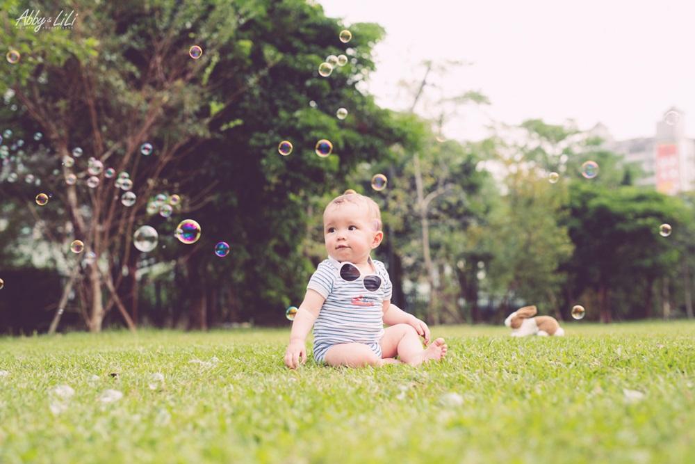 寶寶攝影親子寫真外拍