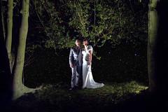 A Stellar Couple (davethejedi) Tags: wedding groom bride couple married wideangle