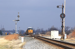 Q243 & Q134 (GLC 392) Tags: light ohio color south ottawa oh ge position cpl csx 3012 emd sd60 cpls 8667 es44ah q134 q243