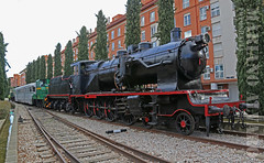 240-4001 Mastodonte (Mariano Alvaro) Tags: museo vapor locomotora 240 ferrocarril renfe 4001 mastodonte