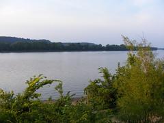 Ohio River near Sunset (Fleur-de-louis) Tags: usa water river kentucky ky westpoint ohioriver waterway