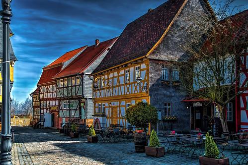 Freilichtmuseum Hessenpark, Baugruppe Marktplatz - Open air museum Hessenpark, assembly marketplace