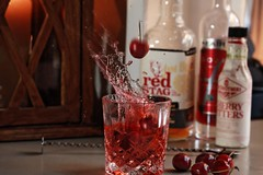 valentines drinks. (dangrahamphotography) Tags: red water waterdrop stag drinks alcohol northumbria splash northeast cerry splosh dangraham drinkporn digitalcameraclub waterporn cerrys dangrahamphotography dangrahamphotographycouk