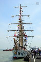 IMG_5628 (suryahardhiyana) Tags: ship naval surabaya kapal dewaruci koarmatim