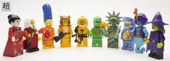 Rainbow (mikechiu86) Tags: flag gay multicoloured lego rainbow lgbt mascot shark guy hazmat minifigure series simpsons love