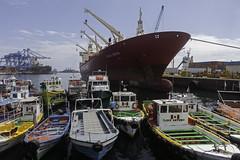 Valparaiso Harbour (blueheronco) Tags: chile boats valparaiso harbor ship harbour pacificocean lapinta tourboats perladelpacifico coolcarriers luchita ilovejennifer carmenrosaiii iloveantonia ditlevreefer