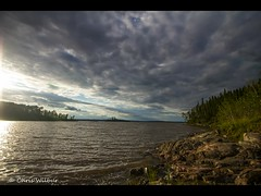 Ospwagan Lake (awaketoadream) Tags: summer sun lake canada nature water mystery clouds relax timelapse video waves time relaxing manitoba wilderness northern audio lapse ospwagan